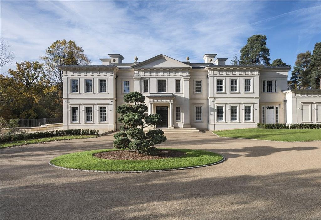 8 Bedrooms Detached House for sale in Pinewood Road, Wentworth, Virginia Water, Surrey, GU25