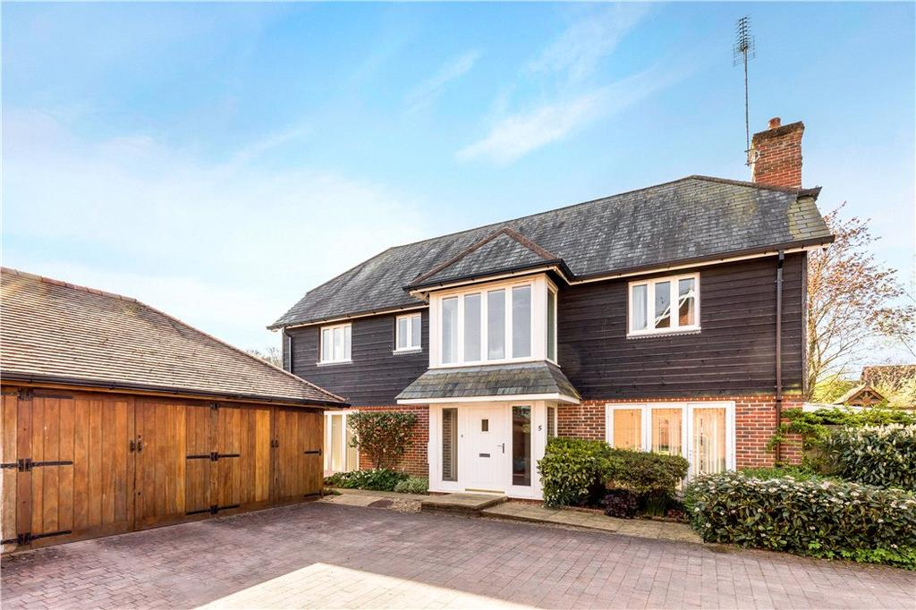 4 Bedrooms Detached House for sale in Hoptons Retreat, Kilmeston, Alresford, Hampshire, SO24