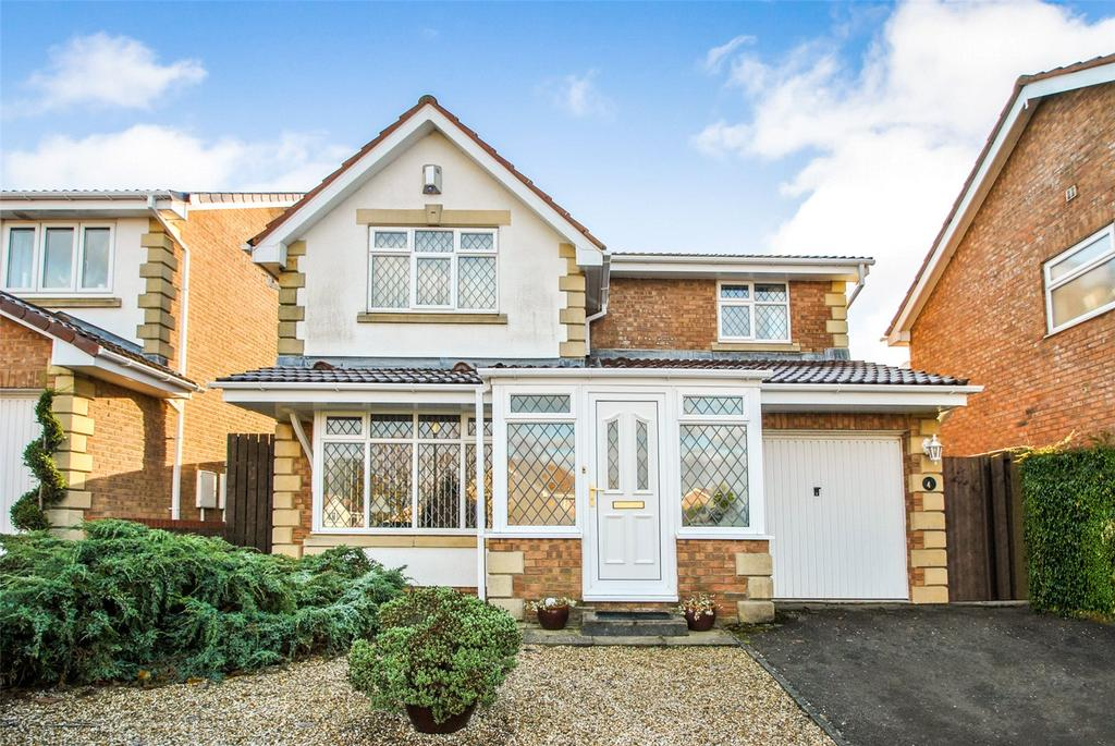 4 Bedrooms Detached House for sale in Goodrich Close, Philadelphia, Houghton le Spring, DH4