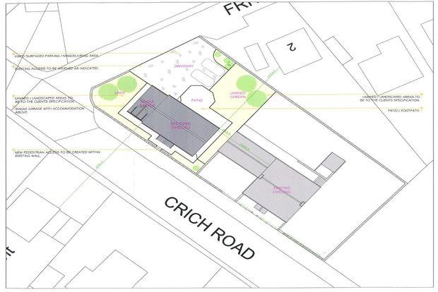 Plot Commercial for sale in Building Plot The Orchard, Fritchley, Belper, DE56