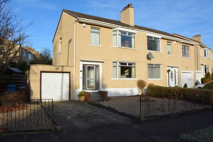 3 Bedrooms Semi-detached Villa House for sale in 132 Netherlee Road, Cathcart, G44 3YZ