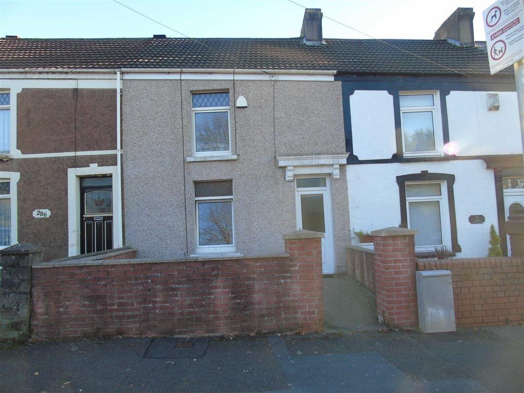 2 Bedrooms Terraced House for sale in Jersey Road, Bonymaen, Swansea