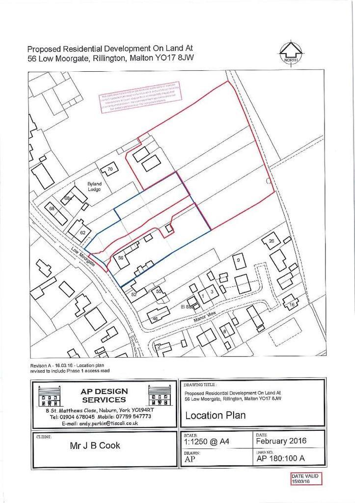 Land Commercial for sale in Low Moorgate, Rillington, Malton
