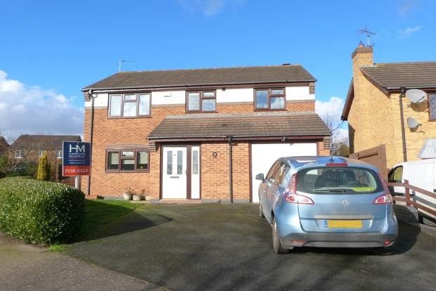 4 Bedrooms Detached House for sale in Kenilworth Close, Mountsorrel, Leicestershire, LE12