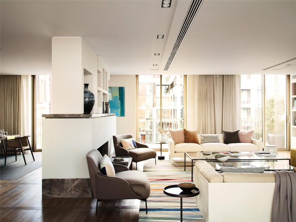 3 Bedrooms Penthouse Flat for sale in Fitzroy Place, Fitzrovia, W1T