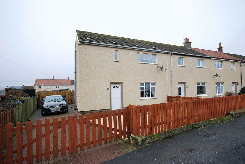 3 Bedrooms End Of Terrace House for sale in 45 Beechwood Road, Tarbolton, KA5 5RP