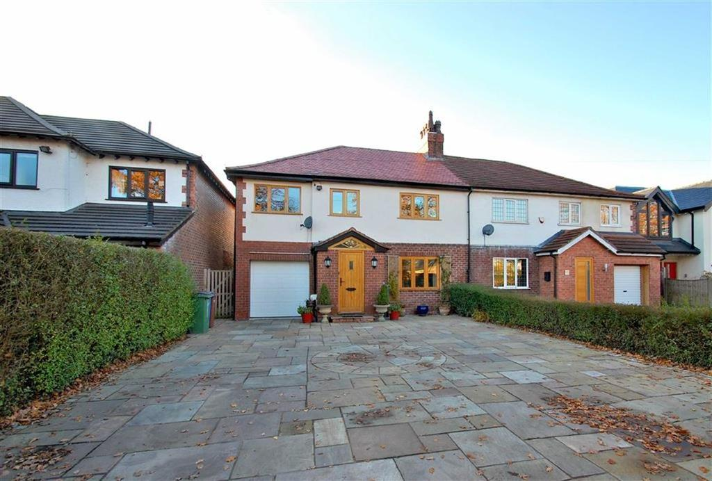 4 Bedrooms Semi Detached House for sale in Moor Lane, Woodford, Cheshire