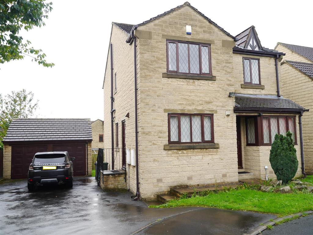 4 Bedrooms Detached House for sale in Badgers Way, Poplar Farm, Bradford, BD2 1LD