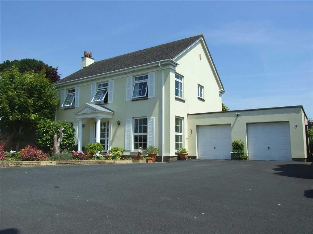 4 Bedrooms Detached House for sale in Higher Cross Road, Bickington, Barnstaple, Devon, EX31