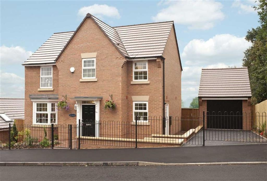 4 Bedrooms Detached House for sale in Montgomery Place, Oswestry, Morda Oswestry