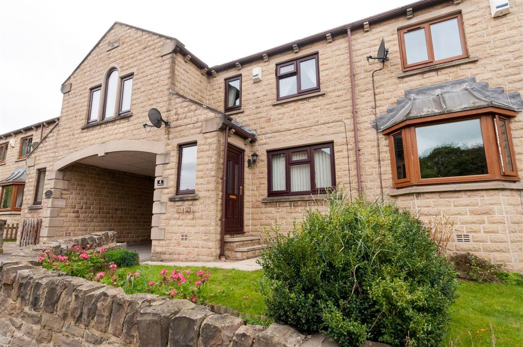 3 Bedrooms Terraced House for sale in Railway Court, Clayton West, Huddersfield, HD8 9TP