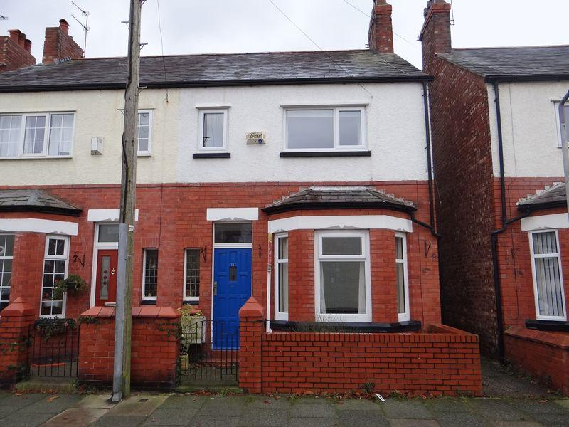 3 Bedrooms Terraced House for rent in Groveland Avenue, Hoylake