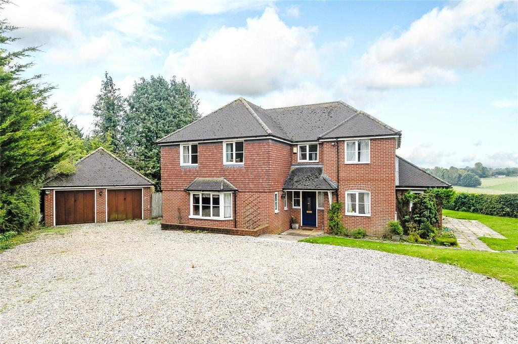 5 Bedrooms Detached House for sale in North Field, Kingsclere Road, Overton, Hampshire, RG25