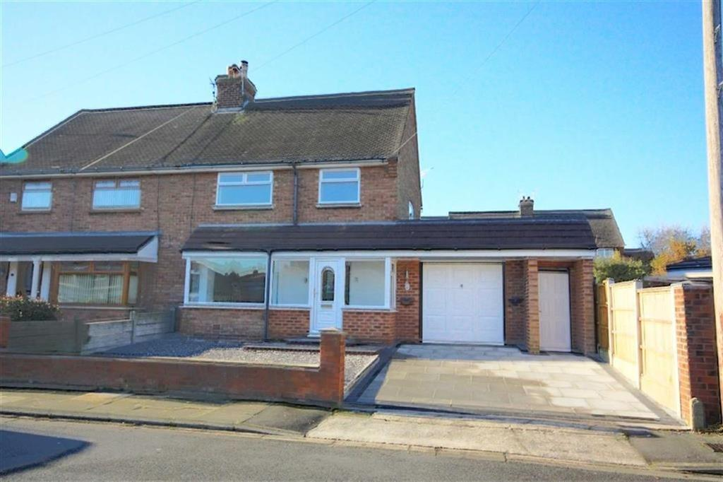 3 Bedrooms Semi Detached House for sale in Coniston Avenue, Prescot, Merseyside, L34