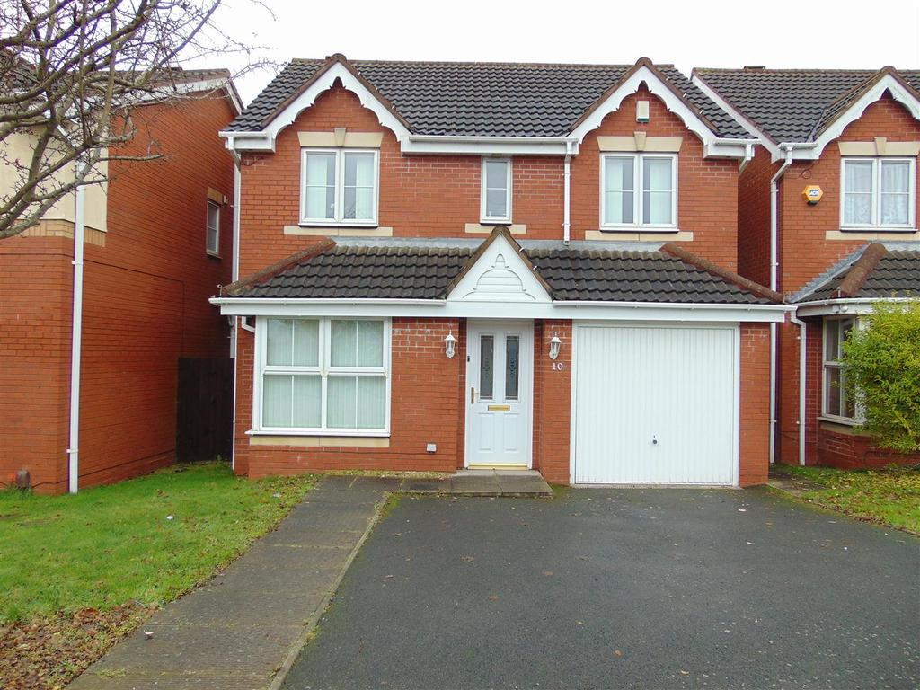 4 Bedrooms Detached House for sale in Wood Lane, Pelsall, Walsall