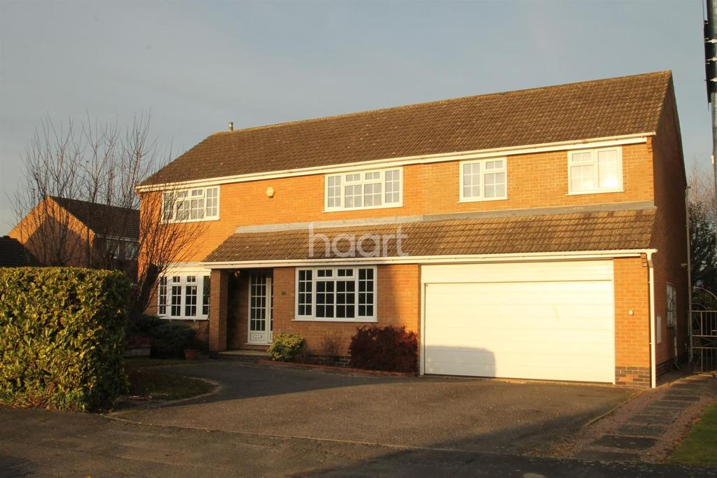 5 Bedrooms Detached House for sale in Longcliffe Road, Grantham, NG31 8DY
