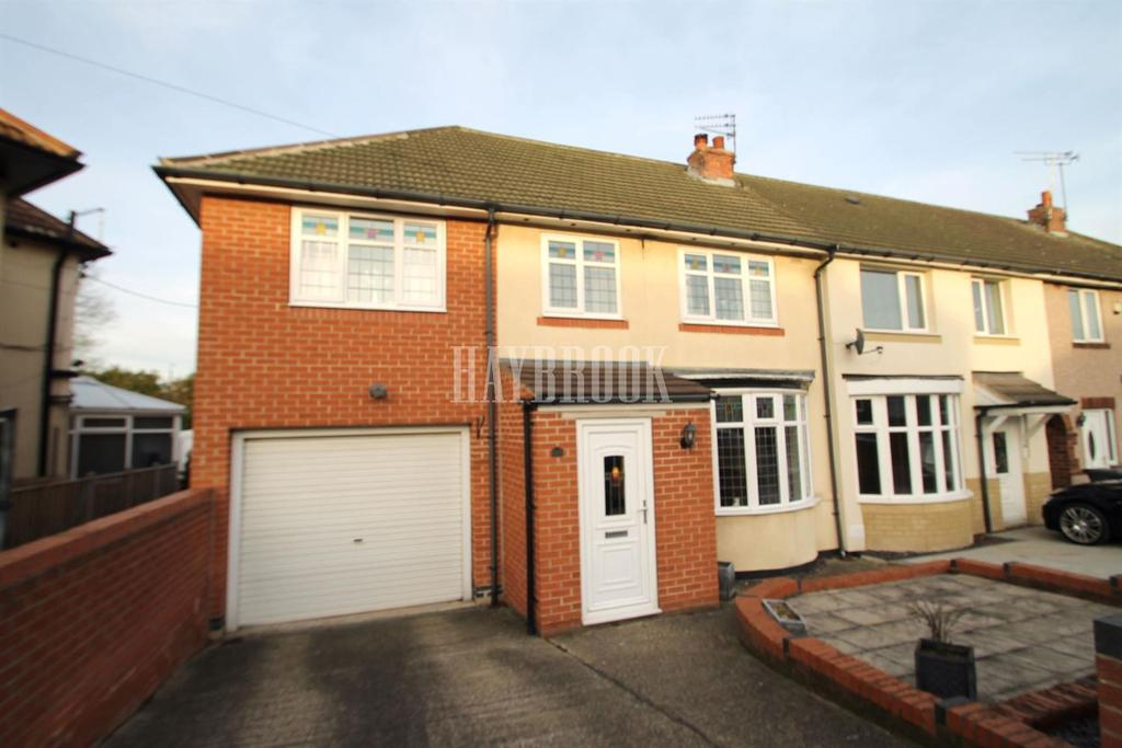 4 Bedrooms Semi Detached House for sale in Bateman Road, Hellaby