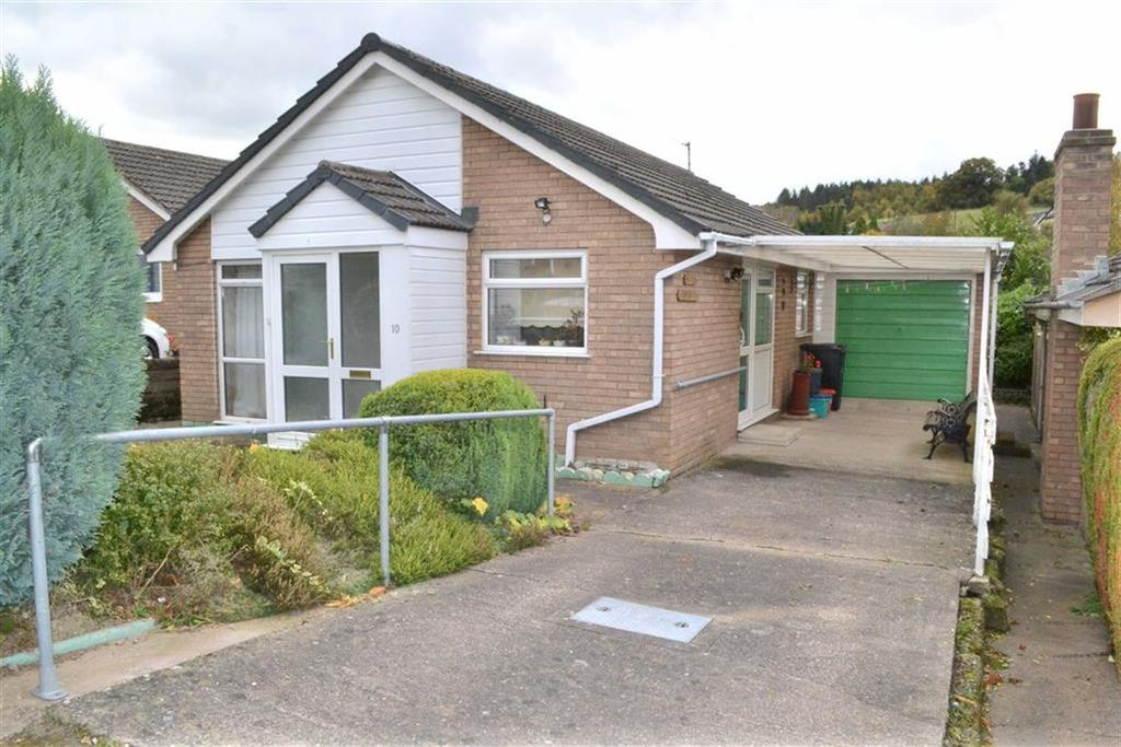 3 Bedrooms Detached Bungalow for sale in 10, Chestnut View, Kerry, Newtown, Powys, SY16