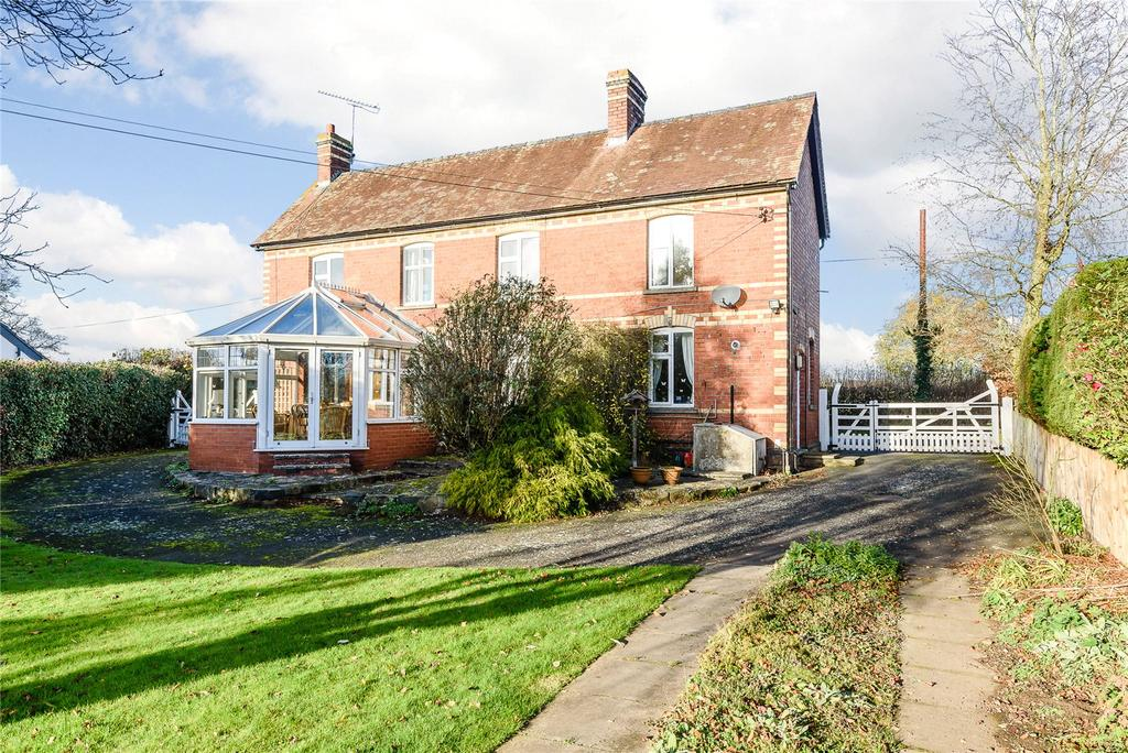 3 Bedrooms Detached House for sale in Huntingdon Lane, Ashford Carbonel, Ludlow, Shropshire
