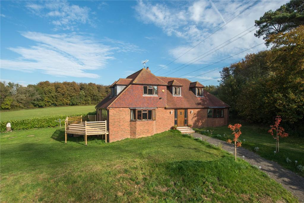 5 Bedrooms Detached House for sale in Droveway, Stelling Minnis, Canterbury, Kent
