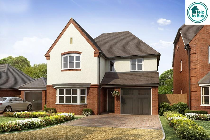 4 Bedrooms Detached House for sale in Field Barn Lane Cropthorne Worcestershire