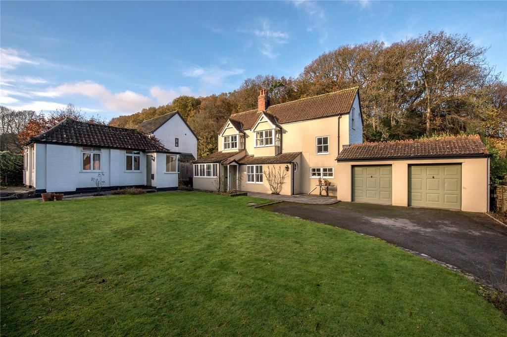 4 Bedrooms Detached House for sale in Holford, Bridgwater, Somerset