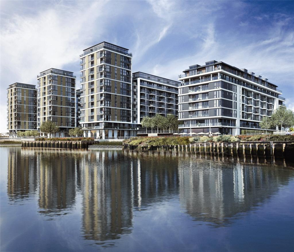 3 Bedrooms Flat for sale in Banning Street, London, SE10