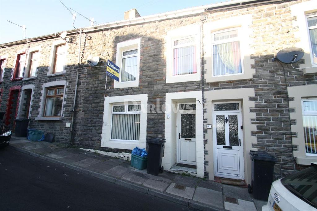 4 Bedrooms Terraced House for sale in Webster Street, Treharris