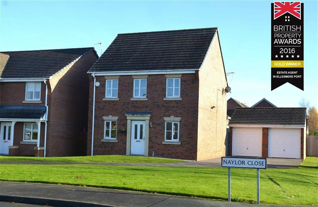 4 Bedrooms Detached House for sale in Naylor Close, CH66