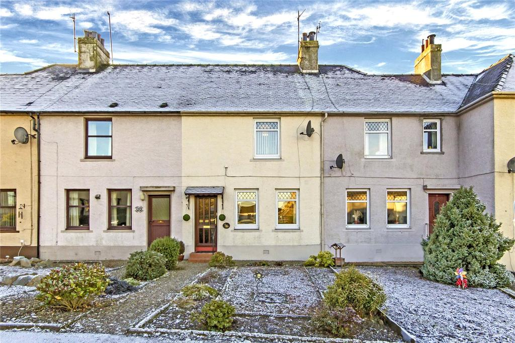 2 Bedrooms Terraced House for sale in 20 Hall Park, Abernethy, Perth, PH2