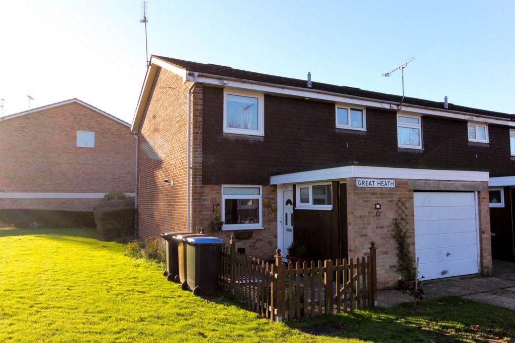 3 Bedrooms End Of Terrace House for sale in Great Heath, Hatfield, AL10
