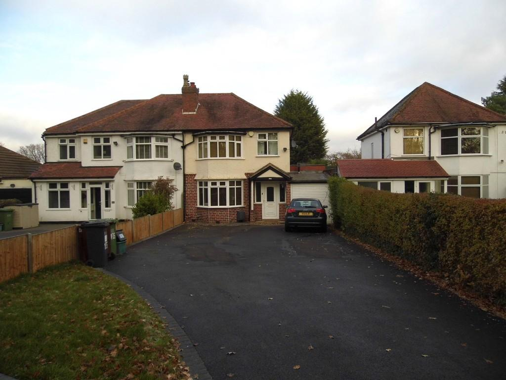 3 Bedrooms Semi Detached House for sale in Streetsbrook Road, Solihull