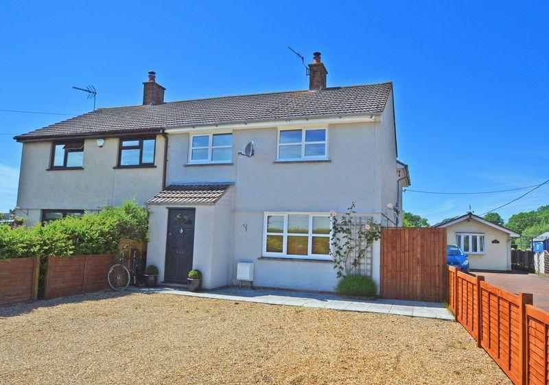 4 Bedrooms Semi Detached House for sale in In the country side outside Kenn Village