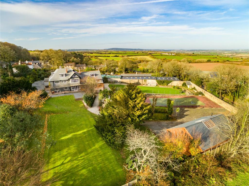 7 Bedrooms Unique Property for sale in Roskrow, Nr Falmouth, Cornwall, TR10