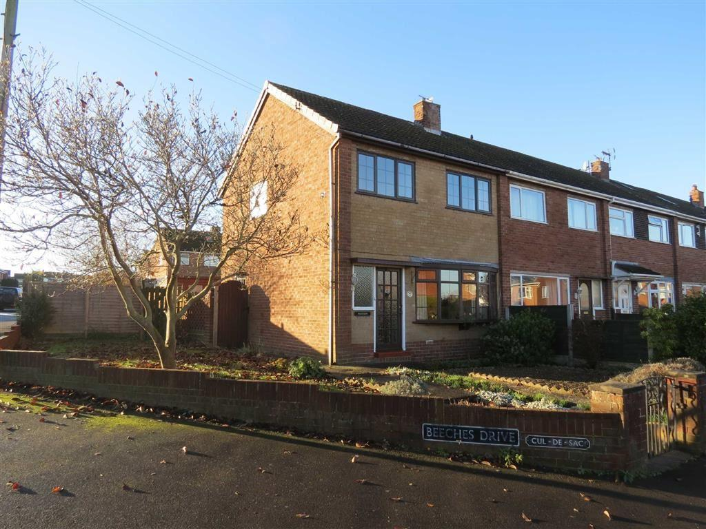 3 Bedrooms End Of Terrace House for sale in Beeches Drive, Shrewsbury, Shropshire