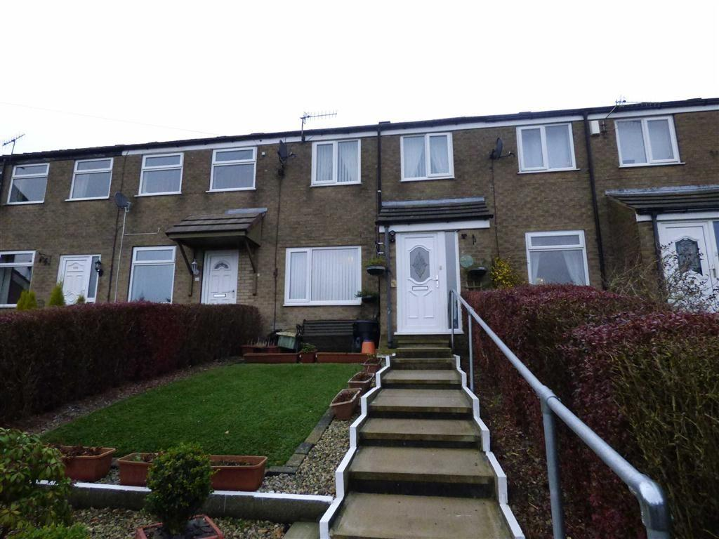 3 Bedrooms Terraced House for sale in Brosscroft Village, Hadfield, Glossop, Derbyshire, SK13