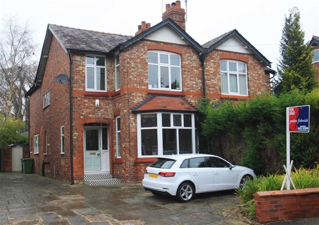 3 Bedrooms Semi Detached House for sale in Kennerleys Lane, Wilmslow