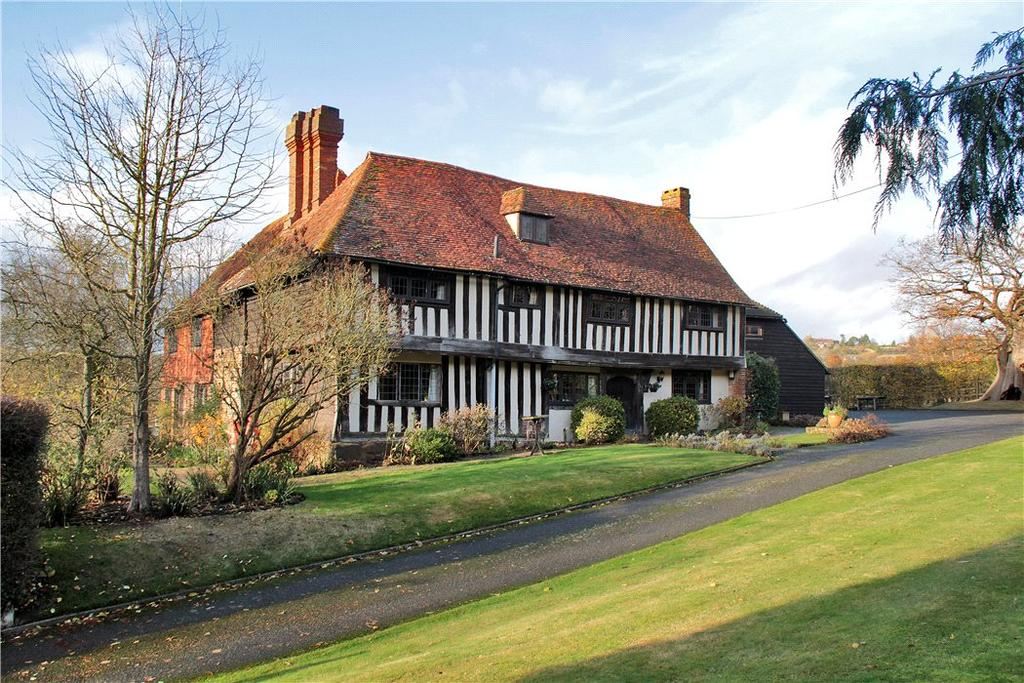 6 Bedrooms Farm House Character Property for sale in Bedgebury Road, Goudhurst, Cranbrook, Kent, TN17