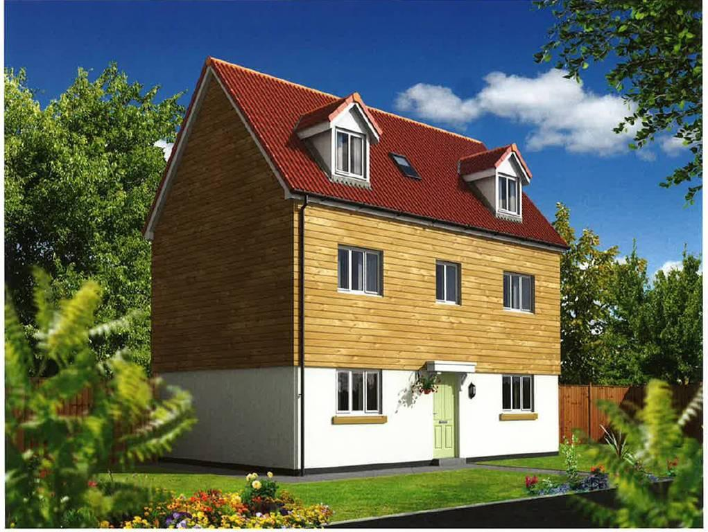 4 Bedrooms Semi Detached House for sale in Taw View, Bickington, Barnstaple
