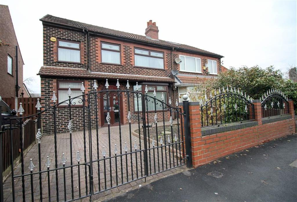 4 Bedrooms Semi Detached House for sale in Windmill Lane, Reddish, Stockport