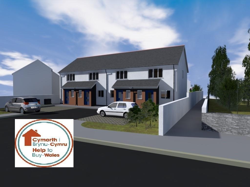 2 Bedrooms Terraced House for sale in Cwrt, Maeshyfryd, Maeshyfryd Road, Holyhead, North Wales