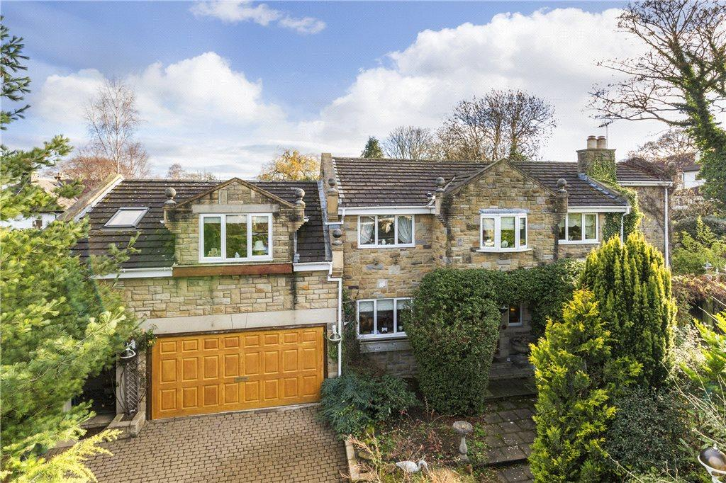 4 Bedrooms Detached House for sale in Oakdale Drive, Pool in Wharfedale, Otley, West Yorkshire