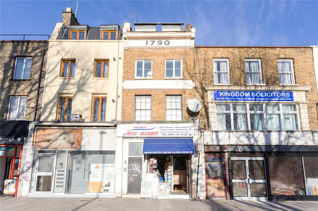 2 Bedrooms Flat for sale in Mile End Road, London, E1