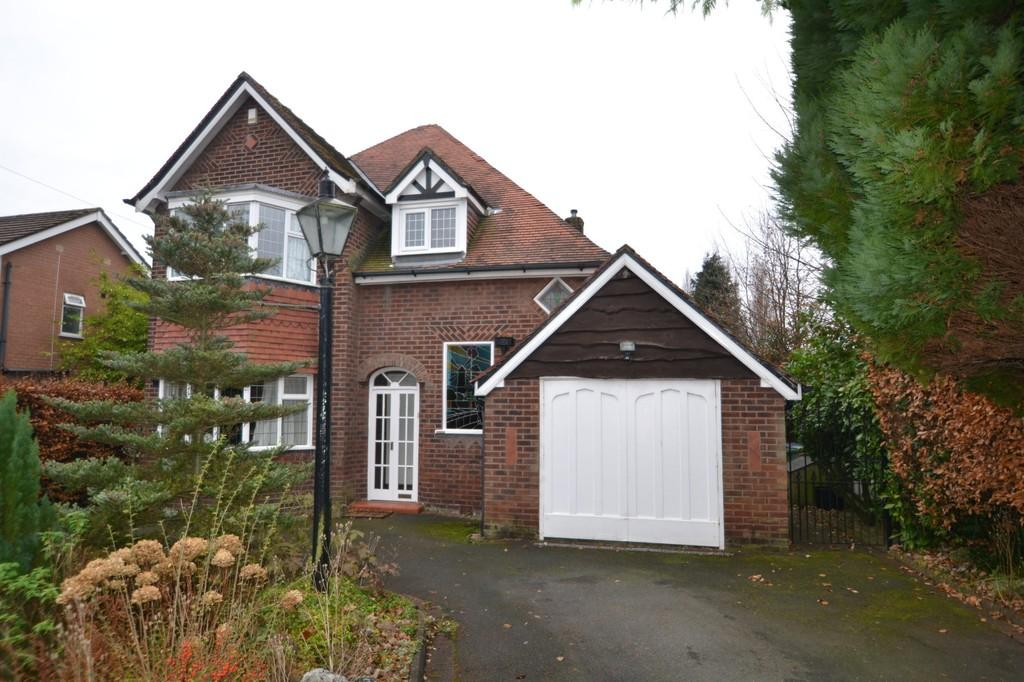 3 Bedrooms Detached House for sale in Styal Road, Heald Green