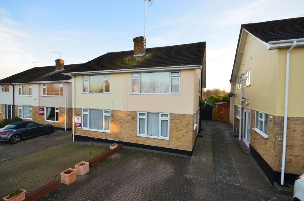 2 Bedrooms Semi Detached House for sale in Armond Road, Witham