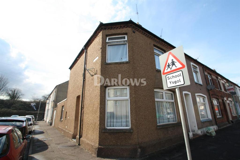 3 Bedrooms End Of Terrace House for sale in North Clive Street, Grangetown