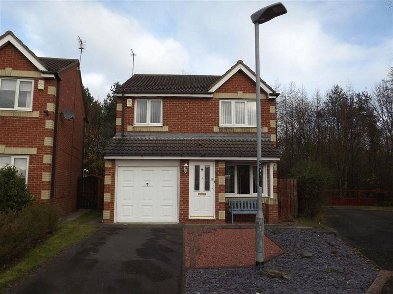 3 Bedrooms Detached House for sale in Eastwood Place, Cramlington