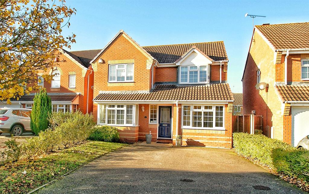 4 Bedrooms Detached House for sale in Lear Grove, Heathcote, Warwick