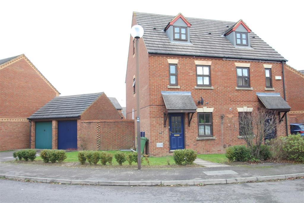 3 Bedrooms Semi Detached House for sale in St. Helens Grove, Monkston, Milton Keynes
