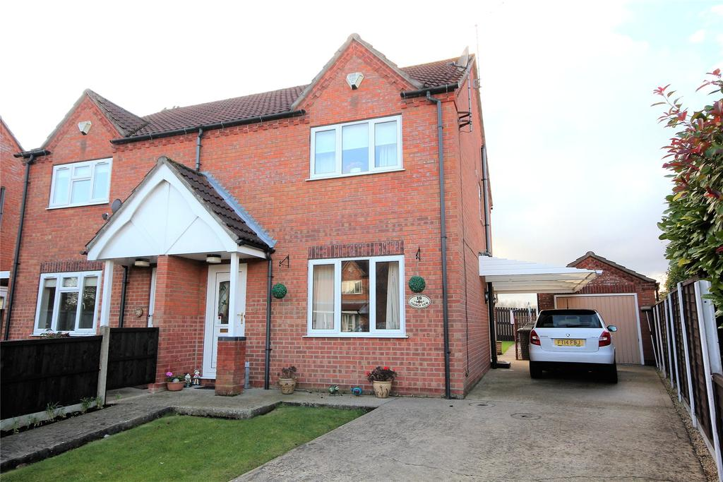3 Bedrooms Semi Detached House for sale in Bayfield Road, Timberland, LN4
